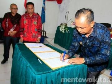 APBD Mentawai 2019 Sah Pembangunan Infrastruktur Tetap Prioritas