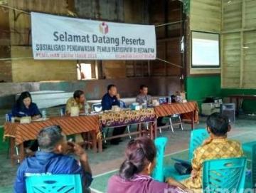 Tertibkan Baliho Panwaslu Siberut Selatan Akan Surati Parpol