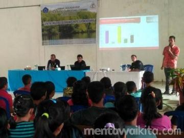 Formma Sumbar Gelar Kegiatan Seminar Lingkungan Hidup dan Penaman Bakau di Siberut Tengah