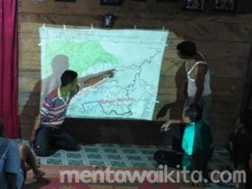 Suku Sirirui di Siberut Utara Petakan 1352 Hektar Wilayah Adatnya