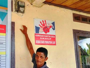 Baru Tujuh Rumah yang Menikmati Listrik PLN di Bakat Monga