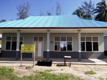 Pembangunan Fasilitas Belajar SMAN 1 Siberut Utara Tuntas