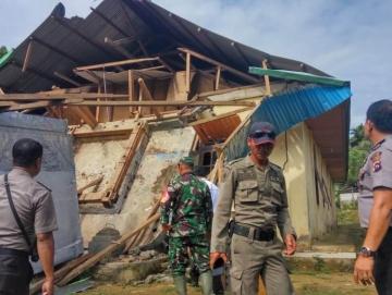 Pasca Gempa BPBD Mentawai Baru Terima 2 Laporan Kerusakan Serius