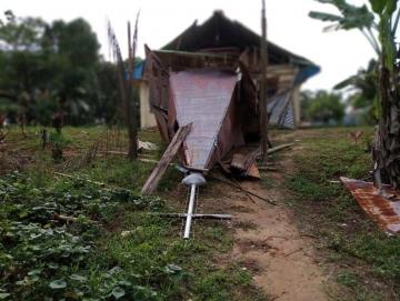 Data Sementara 11 Rumah 1 Gereja dan 1 Sekolah Terdampak Gempa di Sikakap