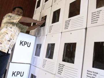 KPU Mentawai Sudah Terima Sebagian Logistik Pemilu 2019