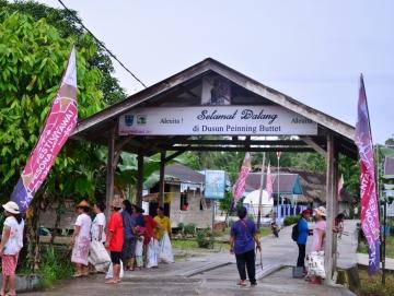 Muntei Gerbang Masuk Wisata Siberut Selatan