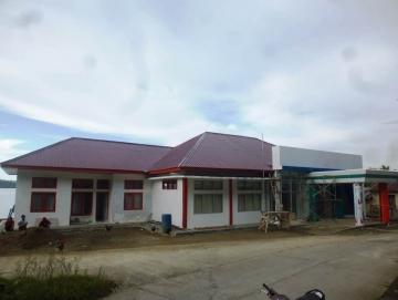 Pembangunan Kantor Badan Karantina Ikan Sikakap Hampir Rampung