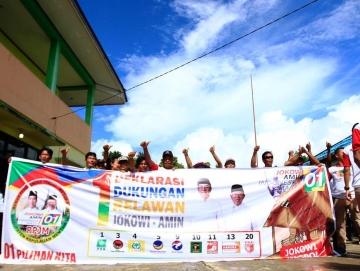 Tim Pemenangan PrabowoSandi di Mentawai Enggan Bicara Target Suara