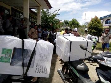 Beratnya Distribusi Logistik Desa Bojakan