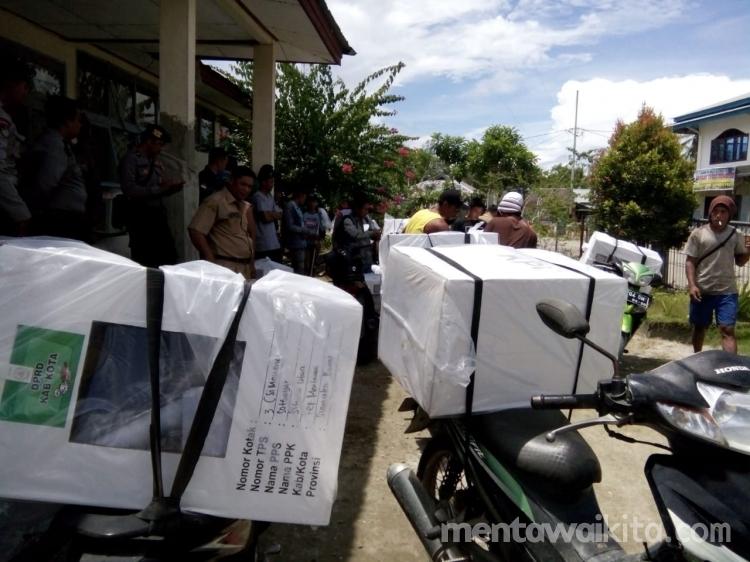 Logistik Pemilu di Siberut Utara Didistribusi Hari Ini