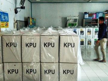 PPK Siberut Selatan Sudah Terima Semua Kotak Suara