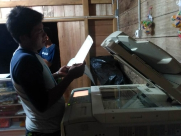 Bumdes Saibi Sejahtera Buka Usaha Kerajinan Tangan Tahun Ini