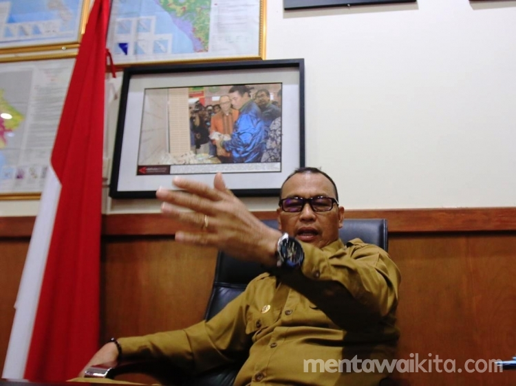 Bupati Mentawai Minta Pemerintah Moratorium Izin Konsesi Skala Besar