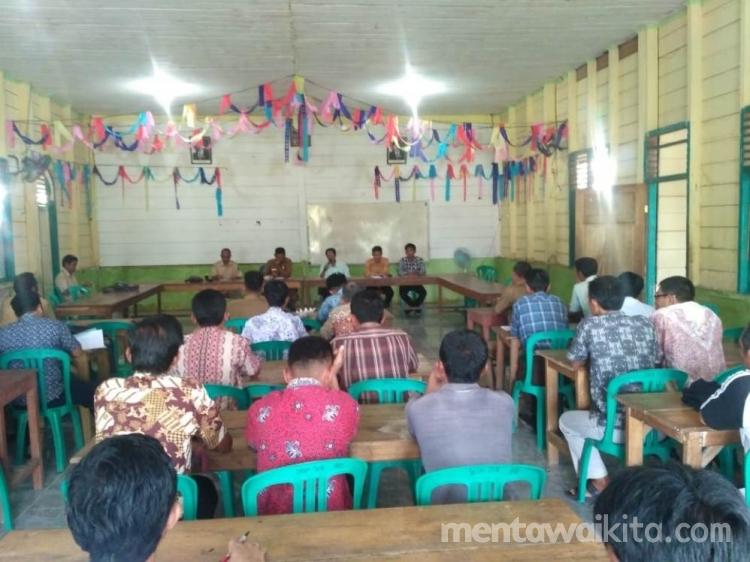 Budaya Mentawai Warnai Lomba HUT RI di Siberut Tengah