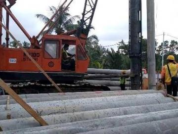 Bupati Mentawai Resmikan Pembangunan Jembatan Mapaddegat