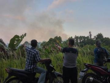 Hutan di Dusun Panatarat dan Cempungan Terbakar