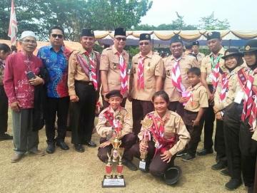 Penggalang Pramuka Mentawai Boyong Dua Tropi ke Mentawai
