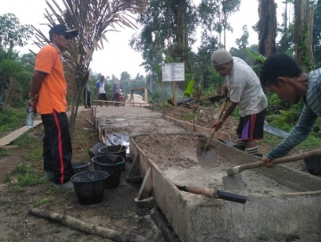 Jalan PIP Di Siberut Tengah Sudah Mencapai 70 Persen