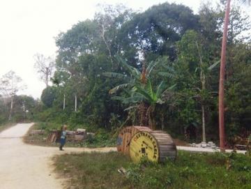 Tahun ini Pemasangan Jaringan PLN Disambung di Desa Matobe Sepanjang 4 KM