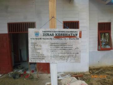Poskesdes Pinairuk Belum Ditempati Petugas Kesehatan