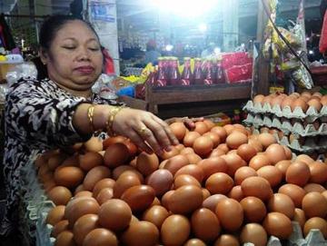Jelang Natal Harga Telur Ayam Naik di Sikakap
