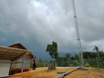Lima Desa di Mentawai Dapat Fasilitas Internet 4G