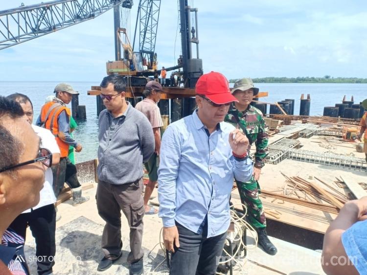 Dermaga Labuan Bajau Siberut Barat Akan Rampung Tahun Ini