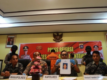 Polisi Tangkap Pelaku Pembunuhan di Mentawai Dua Masih DPO