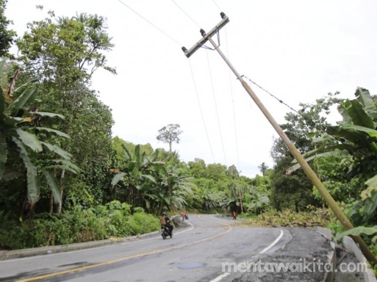 Ini Penyebab Listrik Sering Padam di Ibu Kota Mentawai