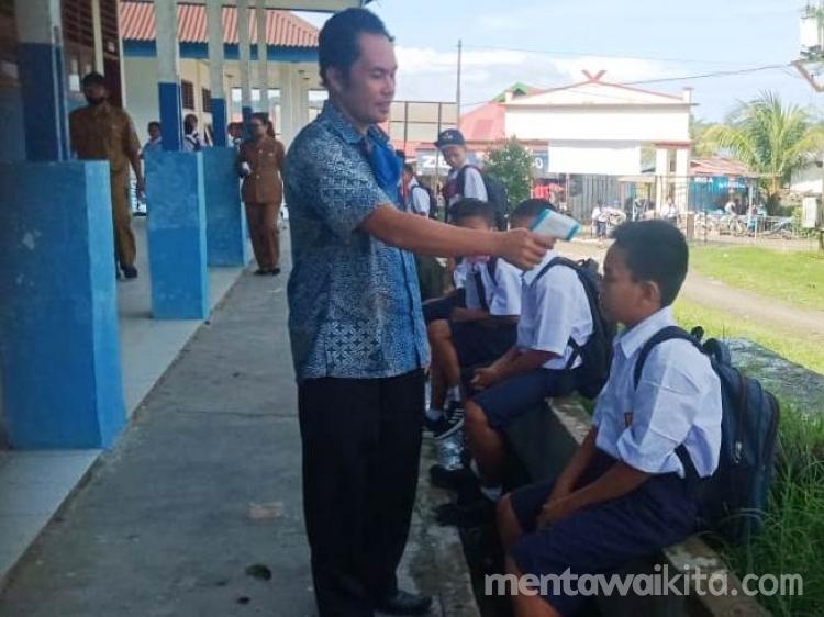 Belum Bisa Sekolah Tatap Muka SMPN 1 PUS Masih Berlakukan Belajar Jarak Jauh