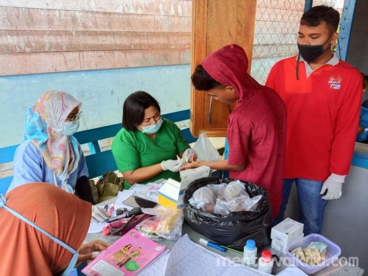 Perangi Malaria Puskesmas Sikakap Lakukan MBS