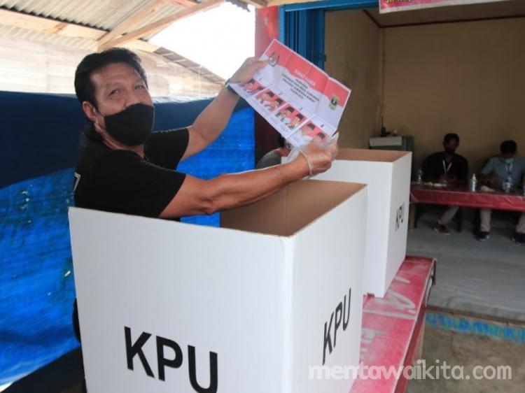 Partisipasi Pemilih Pilgub Sumbar 2020 di Tuapeijat Rendah