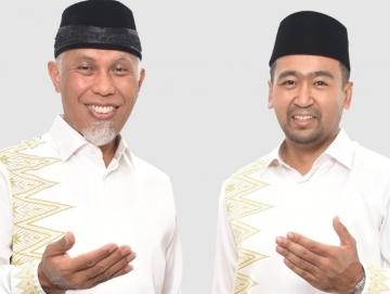 Hasil Hitung Cepat Pilgub Sumbar Pasangan Mahyeldi dan Audy Uggul Sementara