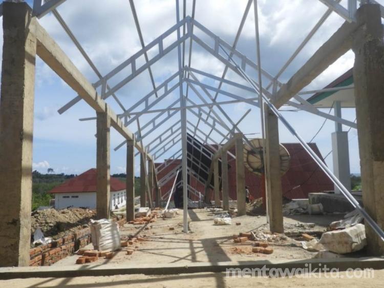 Pembangunan Rumah Sakit Pratama Siberut Selatan Dilanjutkan Dengan Anggaran Rp77 Miliar