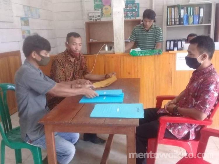 P2KD Taikako dan Madobag  Teliti Bakal Calon Kepala Desa