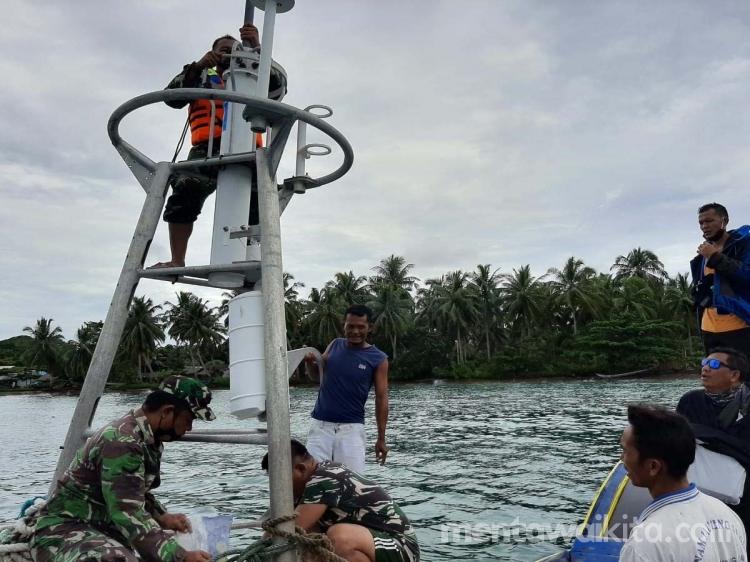 Alat Pendeteksi Gempa dan Tsunami Hanyut di Mentawai Milik NOAA
