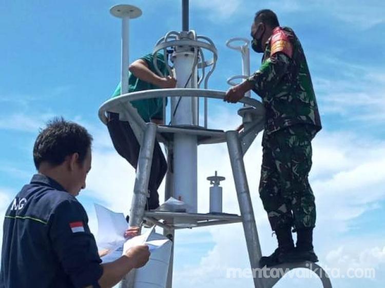 Tim BMKG Sumbar Jemput Sensor Alat Pendeteksi Gempa yang Terdampar di Lobajau