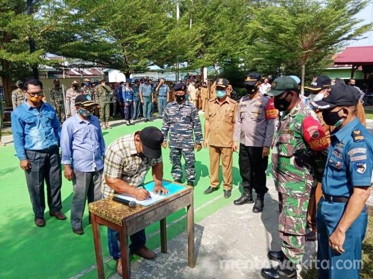Calon Kepala Desa di Wilayah PUS Deklarasi Pilkades Damai