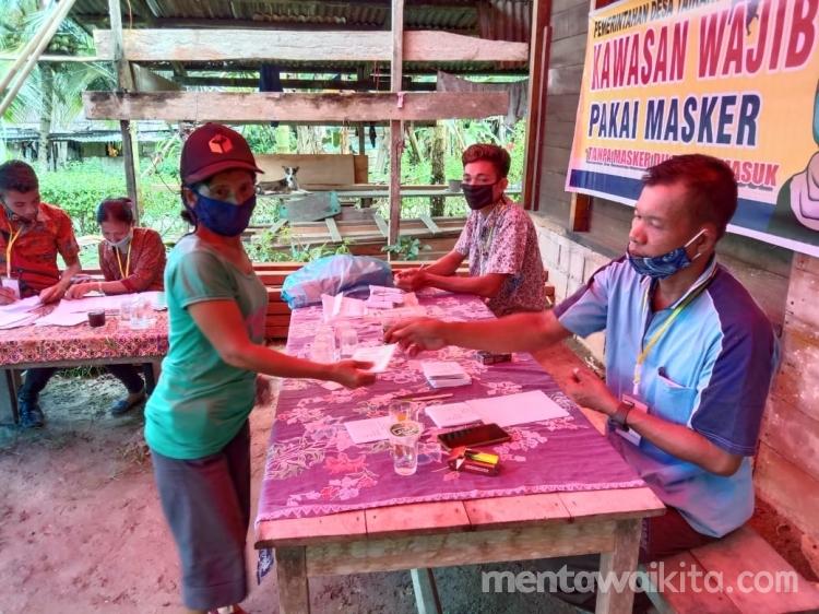 Viktor Saleleubaja Unggul Petahana Kalah Suara Dalam Pilkades Taikako
