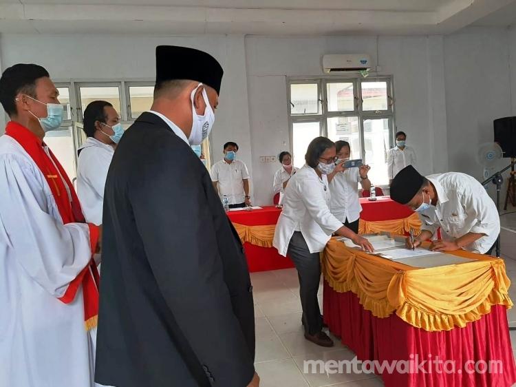 Wabup Mentawai BPD Pemerintah Kecamatan dan Masyarakat Harus Aktif Awasi Penggunaan Anggaran Desa