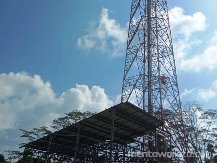 Sinyal Telkomsel Sikakap Mati Warga Kesulitan Komunikasi