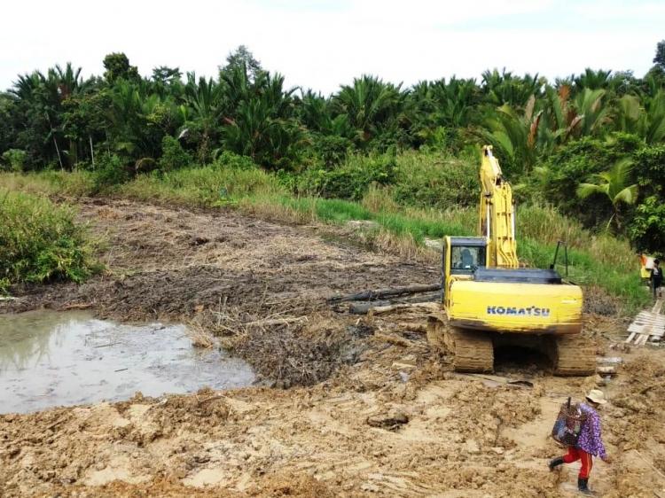 Pembangunan Trans Mentawai PuroMalilimok Dilanjutkan Sepanjang 5 Km