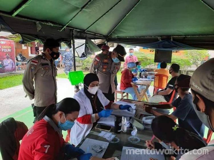 Puskemas Sikakap Sudah Suntikan 3796 Vaksin Covid 19 di Kecamatan Sikakap