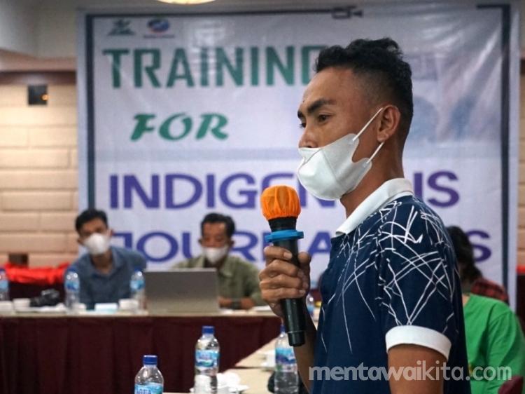 Training Video untuk Jurnalis Adat  Memanfaatkan Platform Media untuk Kabarkan Masalah Lingkungan