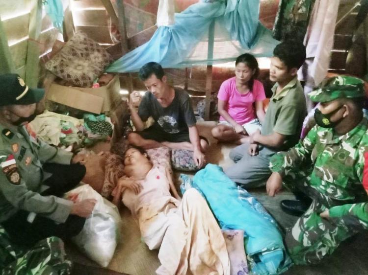 Tidak ada BPJS Kesehatan Korija Samaurau Penderita Pembesaran di leher Meninggal di Rumah