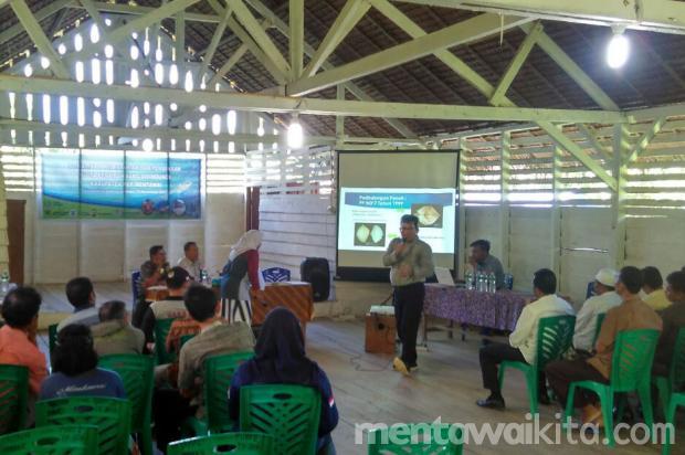 BPSPL Padang Ajak Masyarakat Mentawai Lestarikan Penyu