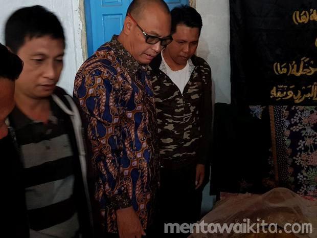 Mantan Plt Bupati Mentawai Antonius Samangilailai Tutup Usia Bupati dan Wakil Bupati Mentawai Sampaikan Duka