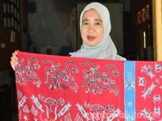 Erdawati Berkarya Melalui Batik Motif Mentawai
