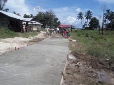 Jalan Pemukiman di Pasapuat Rampung