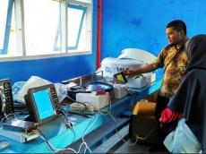 SMKN 2 Kepulauan Mentawai Mendapat Alat Praktik Nautika